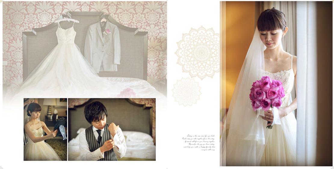 デザインアルバム ハワイ結婚写真はアンプハワイ