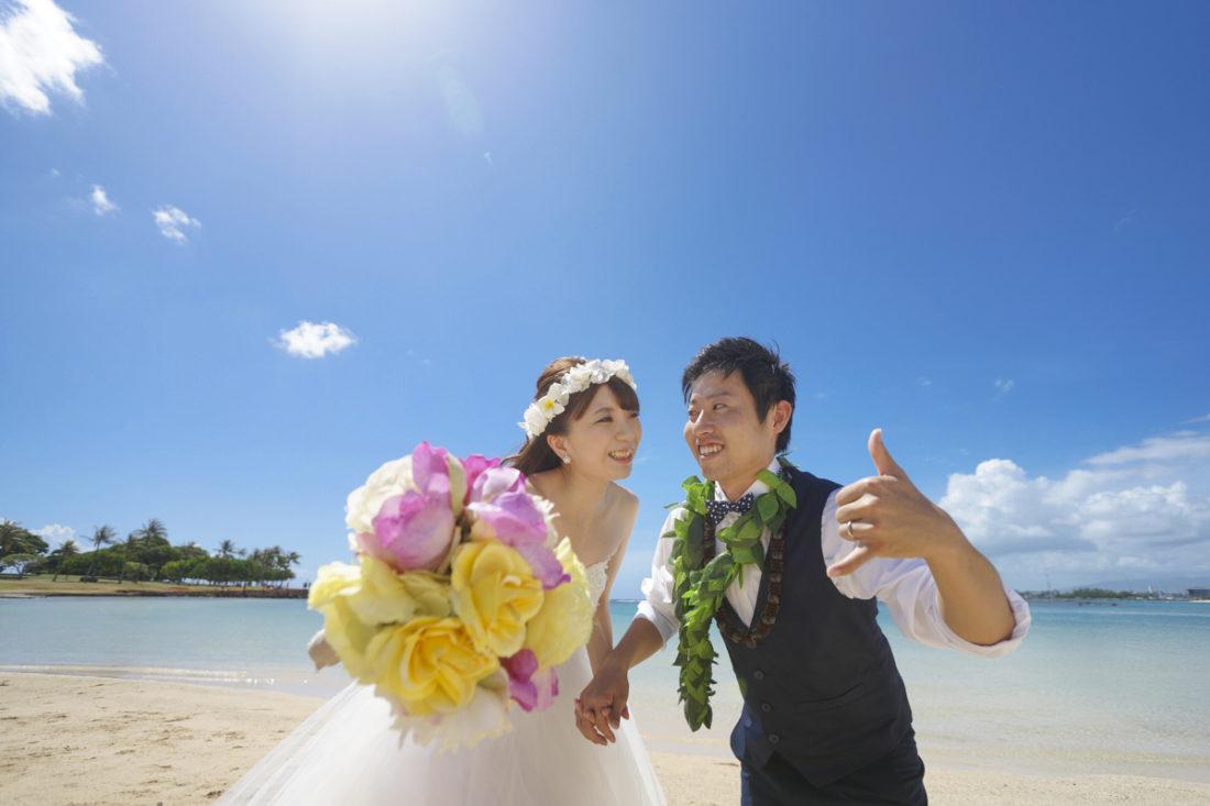ハワイウェディングフォト-アラモアナビーチ-04042018_005